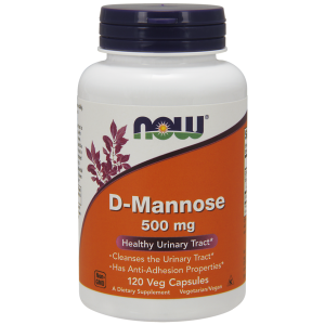 D-Mannose 500 mg Veg Capsules