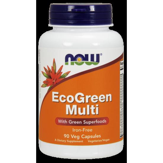 EcoGreen Multi Vitamin 90 Veg Capsules