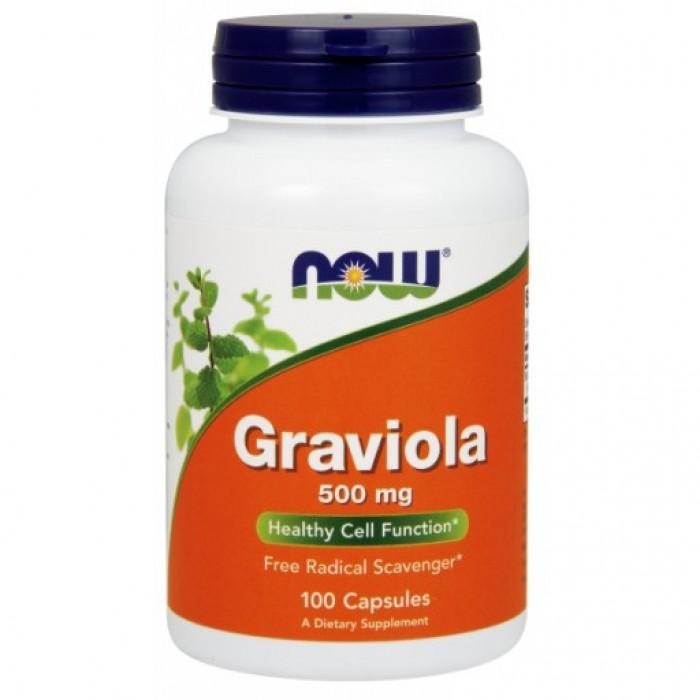 Graviola 500 mg - 100 Veg Capsules