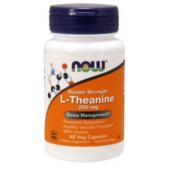 L-Theanine 200 mg - 60 Veg Capsules
