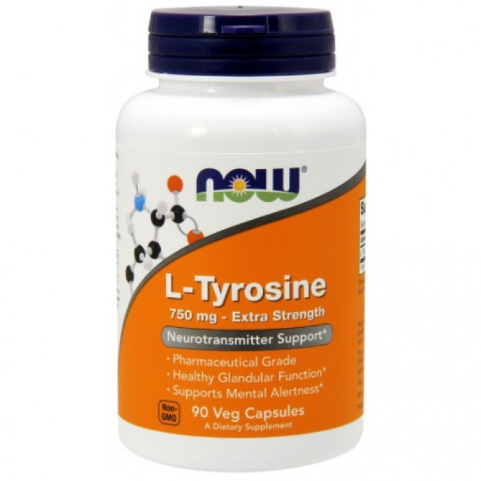 L-Tyrosine 750 mg - 90 Capsules