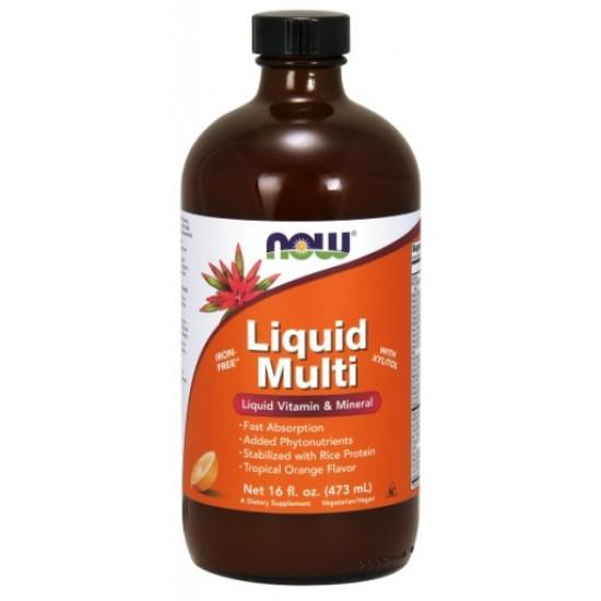 Liquid Multi Tropical Orange - 16 oz.