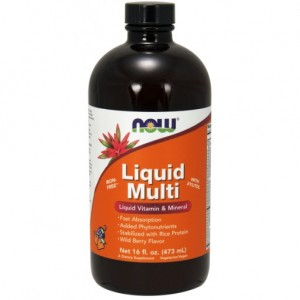 Liquid Multi Wild Berry - 16 oz.