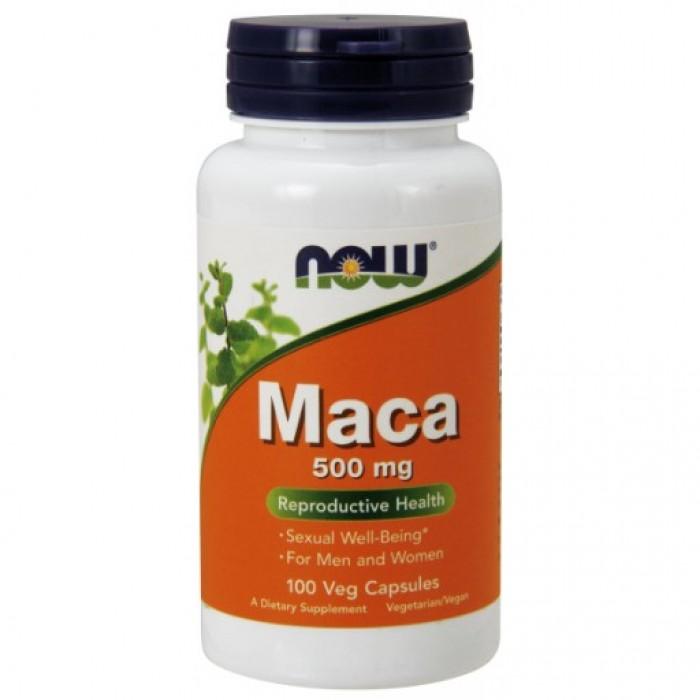 Maca 500 mg - 100 Veg Capsules