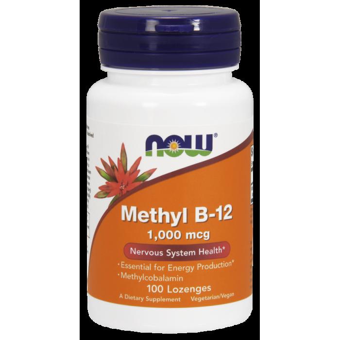 Methyl B-12 1,000 mcg 100 Lozenges