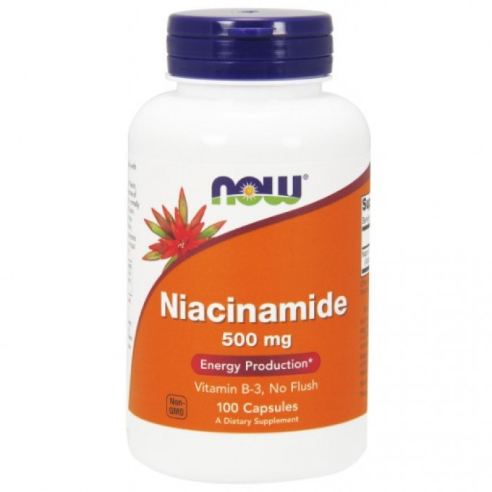 Niacinamide (B-3) 500 mg - 100 Capsules