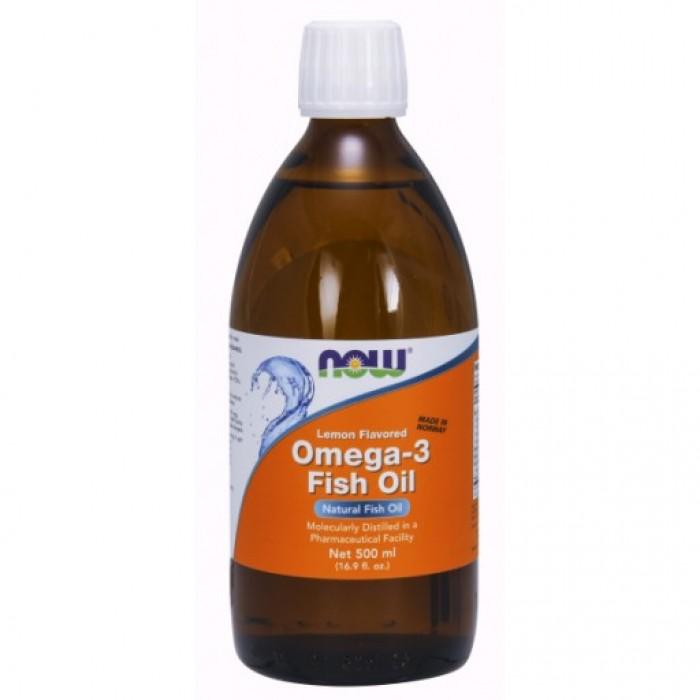 Omega-3 Fish Oil Lemon (halolaj citrom ízesítéssel) 500ml