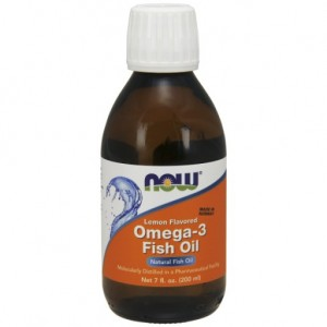 Omega-3 Fish Oil Lemon (halolaj citrom ízesítéssel) 200ml
