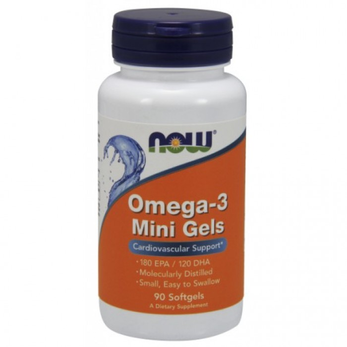 Omega-3 Mini Gels - 90 Softgels