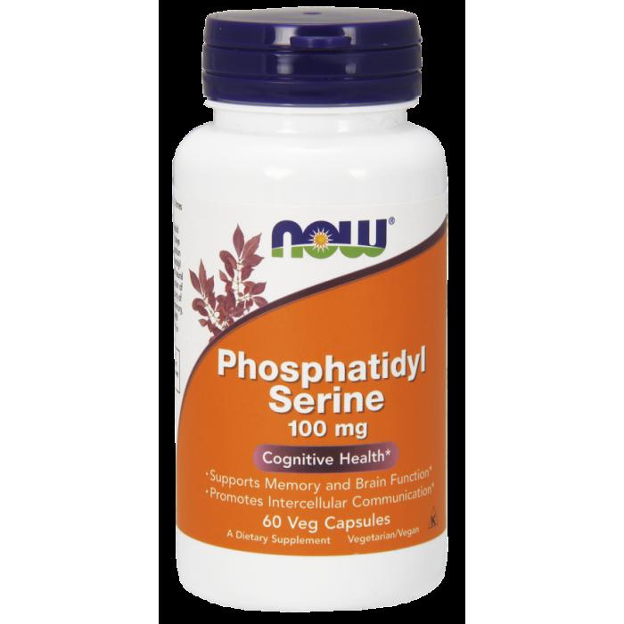 Phosphatidyl Serine 100 mg - 60 Veg Capsules