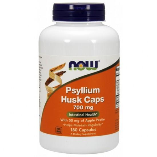 Psyllium Husk 700 mg - 180 Capsules