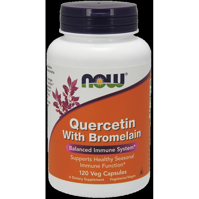 Quercetin with Bromelain - 120 Veg Capsules
