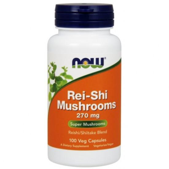 Rei-Shi Mushrooms 270 mg - 100 Veg Capsules