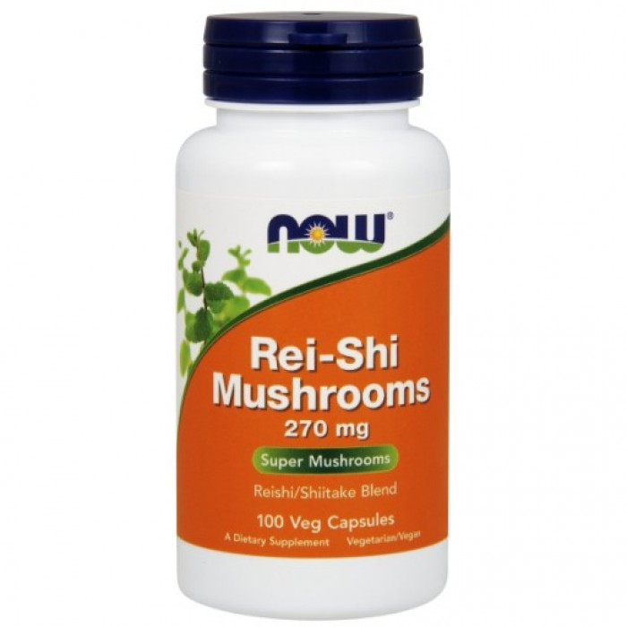Rei-Shi Mushrooms 270 mg - 100 Veg Capsules
