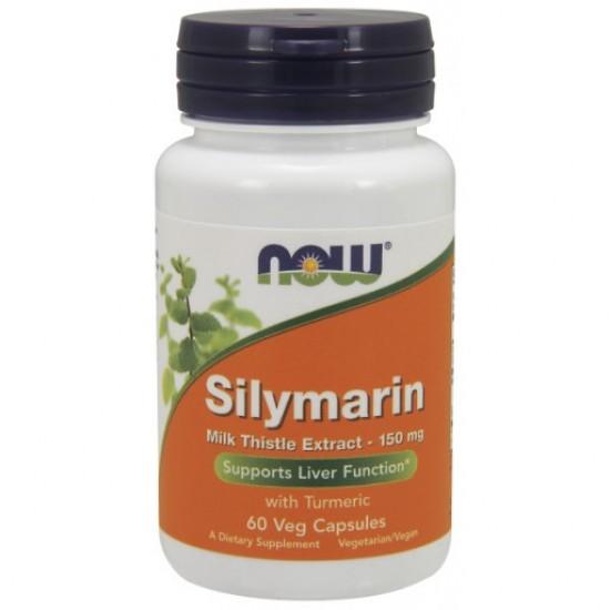 Silymarin Milk Thistle Extract 150 mg - 60 Veg Capsules