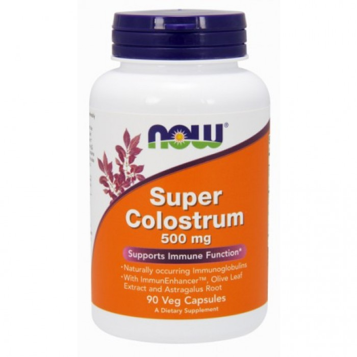 Super Colostrum 500 mg - 90 Veg Capsules