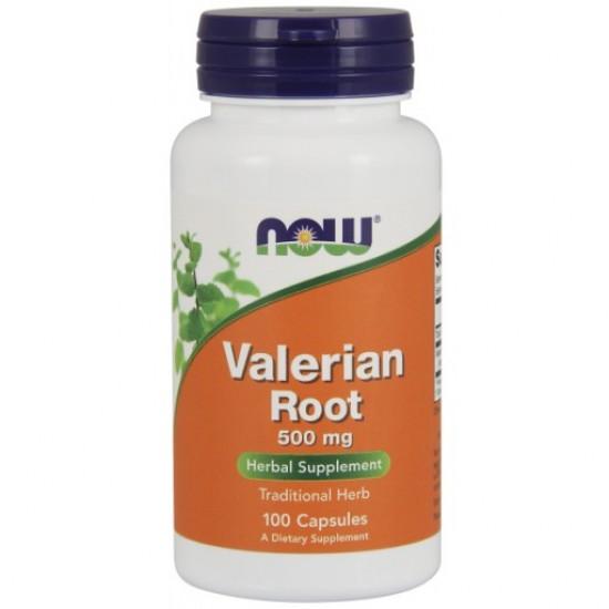 Valerian Root 500 mg - 100 Veg Capsules
