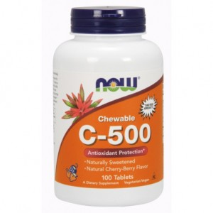 C-500 Cherry Chewable - 100 Lozenges