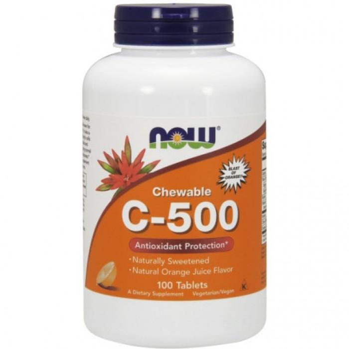 C-500 Chewable Orange - 100 Lozenges