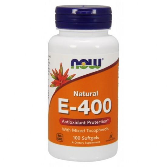 E-400 IU MT - 100 Softgels