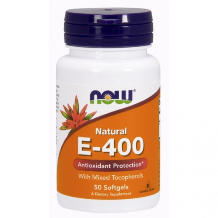 E-400 IU MT - 50 Softgels