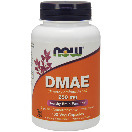 DMAE 250 mg 100 Veg Capsules