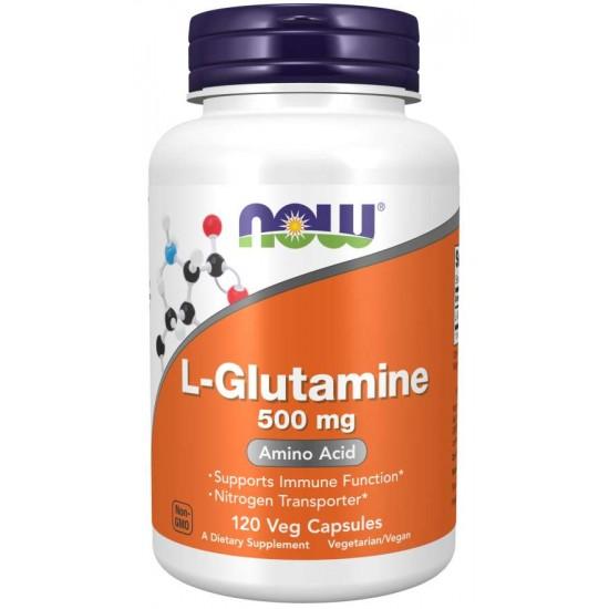 L-Glutamine 500 mg - 120 Capsules