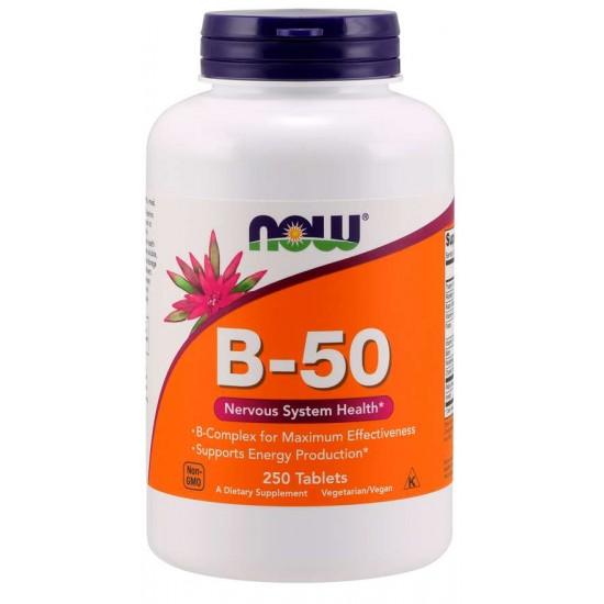 B-50 - 250 Tablets
