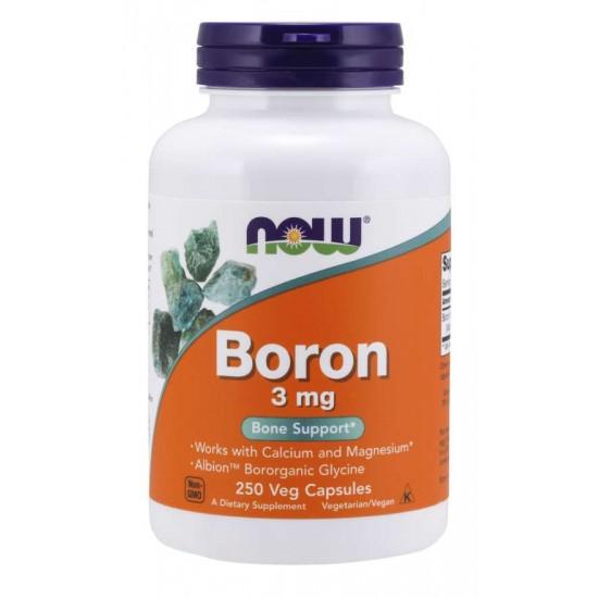 Boron 3 mg - 250 Veg Capsules