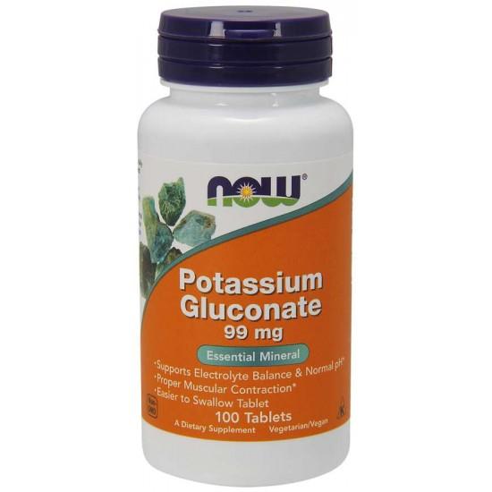 Potassium Gluconate / Kálium-Citrát/ 99 mg - 100 Tablets