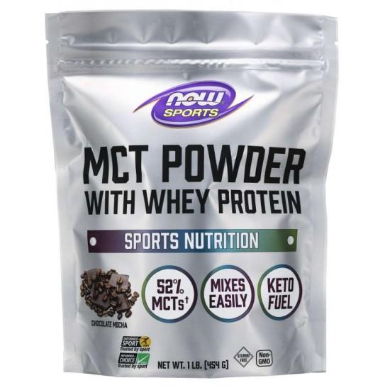 MCT Powder with Whey Protein, Chocolate Mocha 454 g