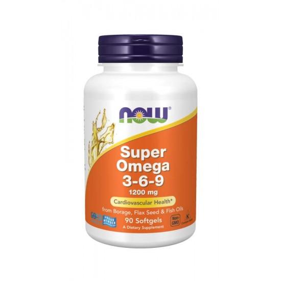 Super Omega 3-6-9 1200 mg 90 Softgels
