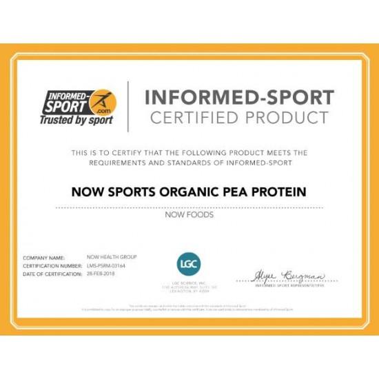 Pea Protein, Organic Powder (borsó protein) 680 gr