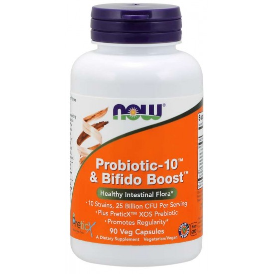 Probiotic-10™ & Bifido Boost™ 90 Veg Capsules  / Szavatossági idő: 2022-08-31