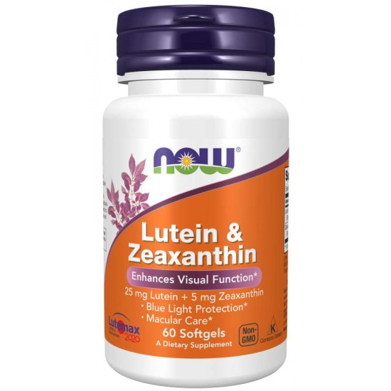 Lutein & Zeaxanthin 60 Softgels