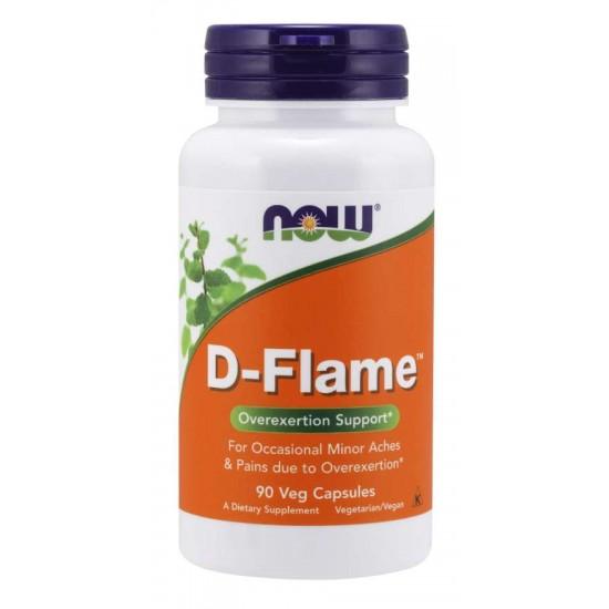 D-Flame™ 90 Veg Capsules / Szavatossági idő: 2021-08-31