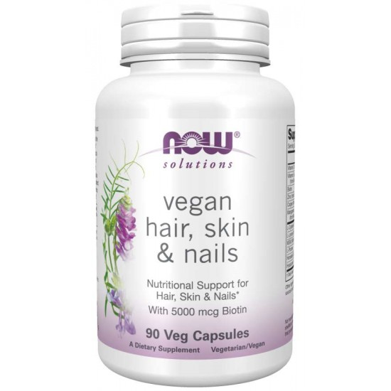 Vegan Hair, Skin & Nails,  90 Veg Capsules