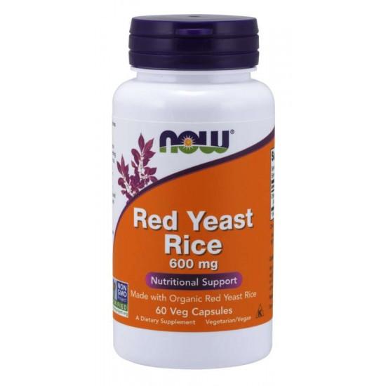 Red Yeast Rice 600 mg 60 Veg Capsules