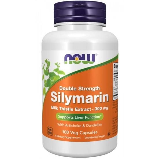 Silymarin, Double Strength 300 mg 100 Veg Capsules