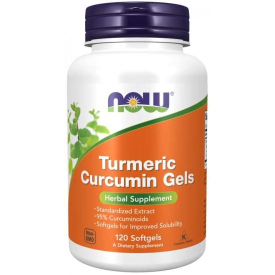 Curcumin Turmeric  120 Gels Softgels