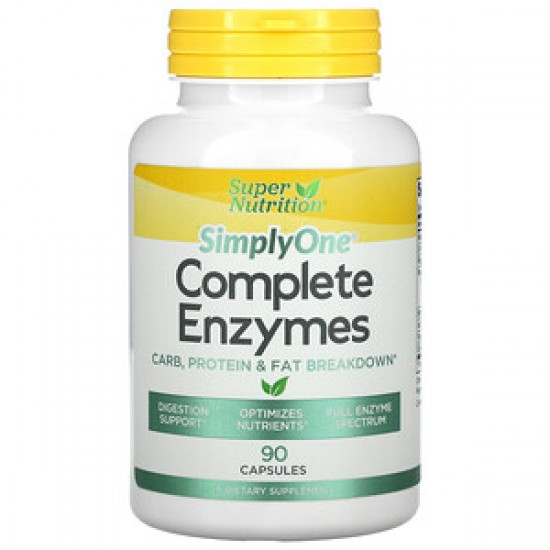 SN Complete Enzymes, 90 Capsules