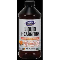 L-Carnitine Liquid, Citrus Flavor 1000 mg - 16 oz.
