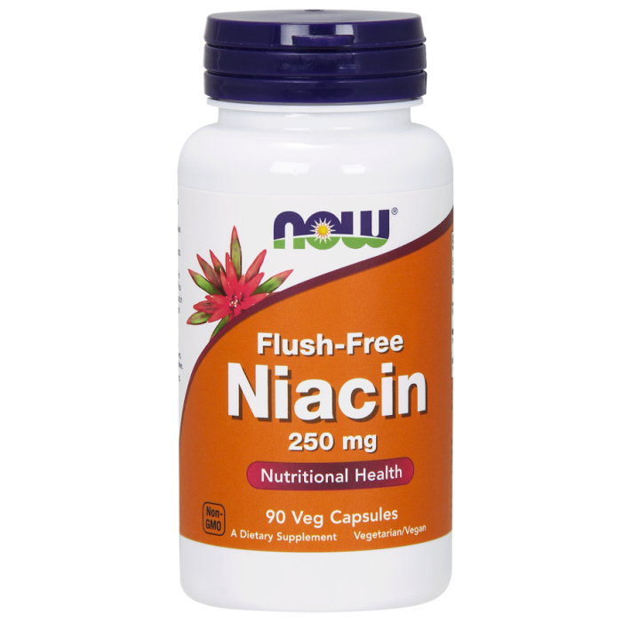 Flush-Free Niacin 250 mg 90 Veg Capsules