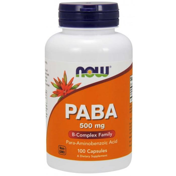 PABA 500 mg 100 Capsules