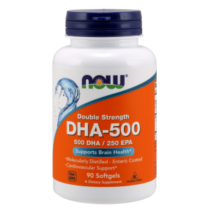 DHA-500, Double Strength 90 Softgels