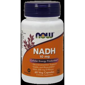 NADH 10 mg 60 Veg Capsules