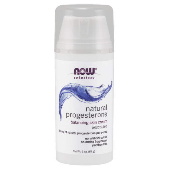 Natural Progesterone Balancing Skin Cream- 3 oz.