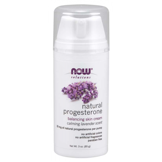 Natural Progesterone Balancing Skin Cream with Lavender 3 oz. (85 g)