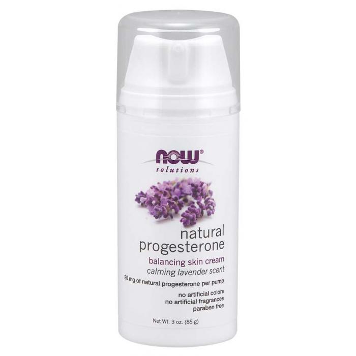 Natural Progesterone Balancing Skin Cream with Lavender 3 oz. (85 g)