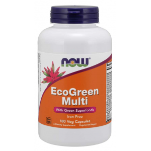 EcoGreen Multi Vitamin 180 Veg Capsules